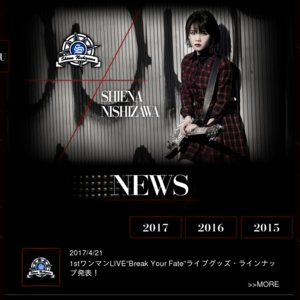 "SHIENA NISHIZAWA 1st LIVE""Break Your Fate"""