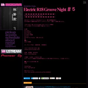 Electric R18 Groove Night #5