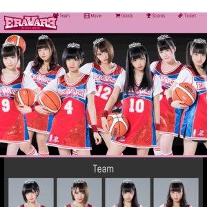 エラバレシ 3rdシングル「バスケットクィーン」発売記念イベント HMVエソラ池袋店