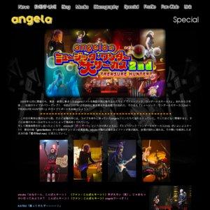 angelaのミュージック・ワンダー★大サーカス2nd ~TREASURE HUNTER~