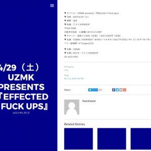 UZMK presents 『Effected ☆ fuck ups』
