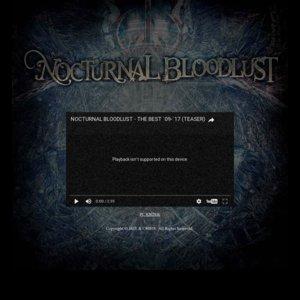 NOCTURNAL BLOODLUST TOUR OF GEHENNA 17-18 (東京)