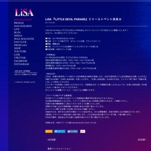 LiSA 『LiTTLE DEViL PARADE』 リリースイベント ラゾーナ川崎プラザ