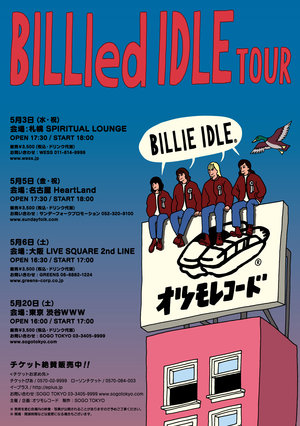 BILLIE IDLE® BILLIed IDLEツアー札幌