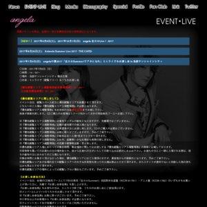 angela 「全力☆Summer!」発売記念イベント@東京