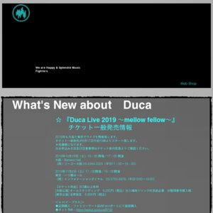 Duca LiveAlive one's future 〜Acoustic night〜