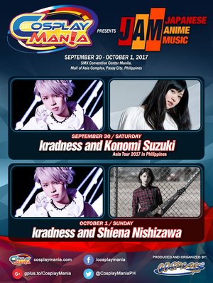 COSPLAY MANIA 2017 Presents JAM day 1