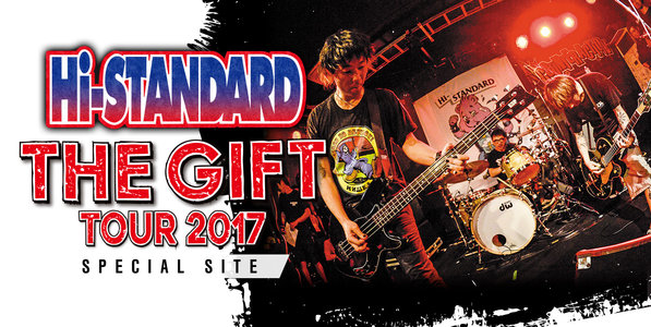 "Hi-STANDARD ""THE GIFT TOUR 2017"" 大阪 2日目"