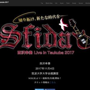 西沢幸奏 Live in Tsukuba 2017 Sfida
