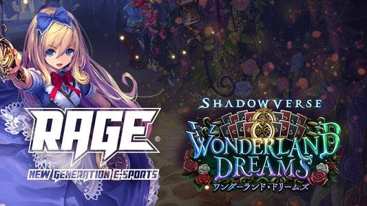 「RAGE Shadowverse Wonderland Dreams」 オフライン予選東京大会Day1