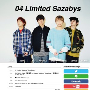"04 Limited Sazabys ""Squall tour"" 新潟公演"