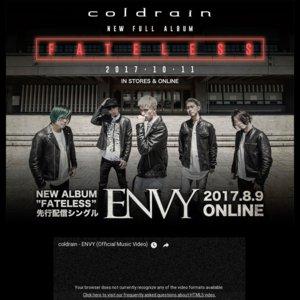 coldrain FATELESS JAPAN TOUR 2017 名古屋