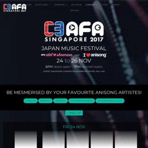 C3 AFA SINGAPORE 2017 3日目 I Love Anisong concert