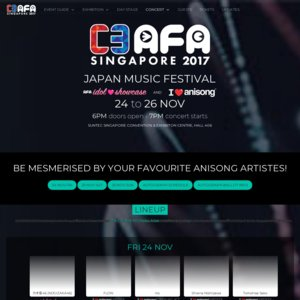 C3 AFA SINGAPORE 2017 1日目 I Love Anisong concert