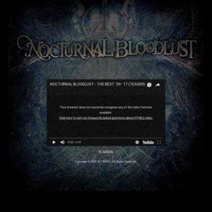 NOCTURNAL BLOODLUST Presents ONE MAN TOUR「Inmost of Gehenna」長野公演