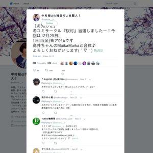 コミックマーケット93 サークル「桜村+MaikaMaika」