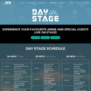 C3 AFA Singapore 2017 1日目 I Love Anisong Artist Appearance (Main Stage)