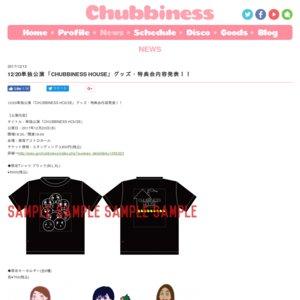 Chubbiness 単独公演「CHUBBINESS HOUSE」
