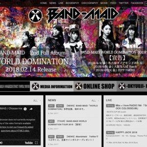 BAND-MAID WORLD DOMINATION TOUR 2018 -Nagoya-