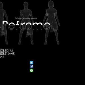 「Perfume×TECHNOLOGY」Special live Show 2日目