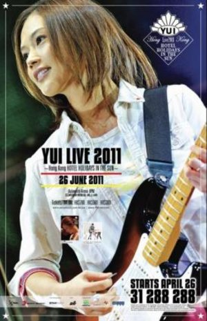 YUI Live 2011 - Hong Kong HOTEL HOLIDAYS IN THE SUN