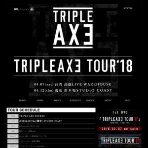 TRIPLE AXE TOUR'18