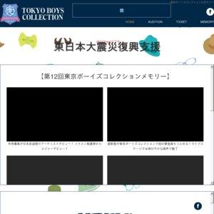第12回東京ボーイズコレクション グラビアランウェイ