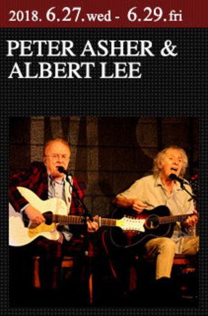 PETER ASHER & ALBERT LEE 2018. 6.29.fri [2nd show]