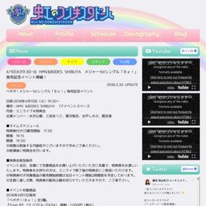 ベボガ!メジャー1stシングル「Be!」発売記念イベント 東京ドームシティ ラクーアガーデンステージ