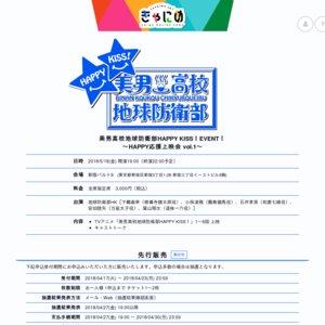 美男高校地球防衛部HAPPY KISS!EVENT! ~HAPPY応援上映会 vol.1~