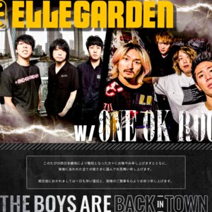 THE BOYS ARE BACK IN TOWN TOUR 2018 千葉公演