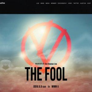 """ヲルタナティヴ 2nd Oneman Live """"THE FOOL"""""""