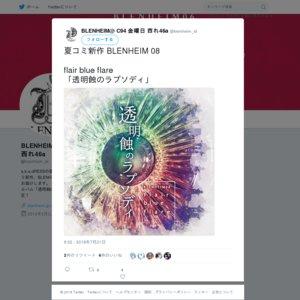 コミックマーケット94 1日目「チワ倉屋」「BLENHEIM」