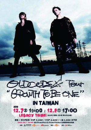 "OLDCODEX Tour ""GROWTH TO BE ONE"" 台北1日目"