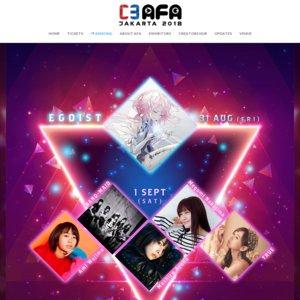 C3AFA JAKARTA 2018 I LOVE anisong DAY1 (EGOIST ASIA TOUR 2018 in Indonesia)