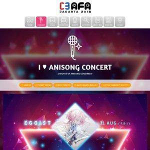 C3AFA JAKARTA 2018 I LOVE anisong DAY2