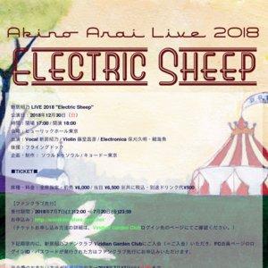 """新居昭乃 LIVE 2018 """"Electric Sheep"""""""