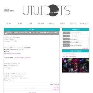 UNIDOTS presents SHIKISAI 2018 - 冬編