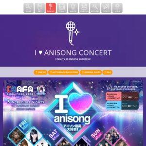 C3AFA SINGAPORE 2018 1日目 I LOVE ANISONG CONCERT