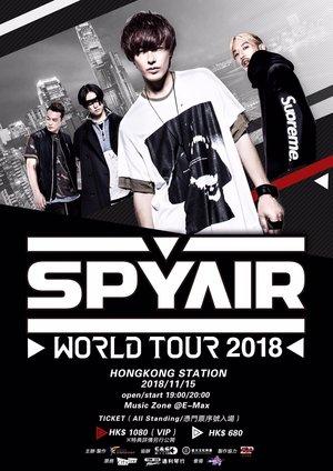 SPYAIR WORLD TOUR 2018 HONGKONG STATION