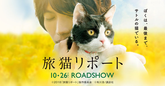 映画『旅猫リポート』公開記念舞台挨拶(10/27 新宿ピカデリー)