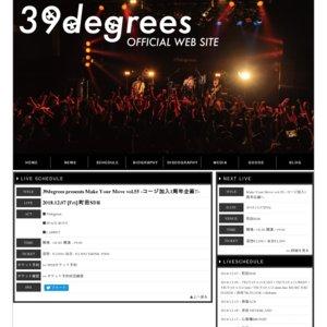 39degrees presents Make Your Move vol.55 -コージ加入1周年企画!!-
