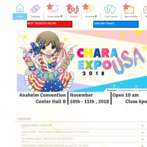 CharaExpo USA 2018 Day 2 Roselia Live Stage