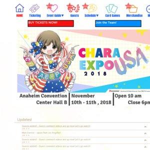 CharaExpo USA 2018 Day 2 Big Autograph Session Rimi Nishimoto