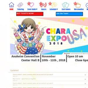 CharaExpo USA 2018 Day 2 Big Autograph Session Takaaki Kidani