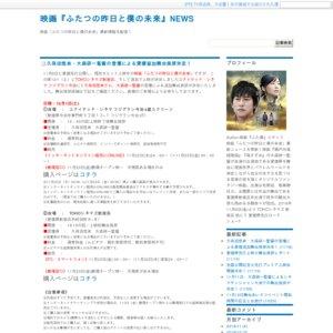 映画『ふたつの昨日と僕の未来』愛媛追加舞台挨拶(12/1 新居浜)