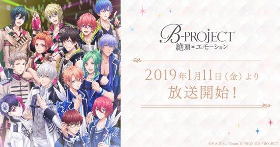 TVアニメ 『B-PROJECT 絶頂エモーション』第1話先行上映会 1回目
