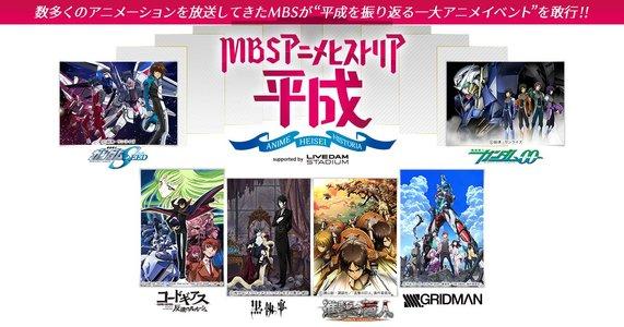 MBSアニメヒストリア―平成―