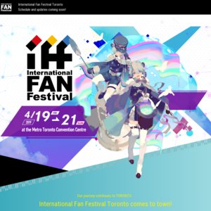 International Fan Festival Toronto 2019