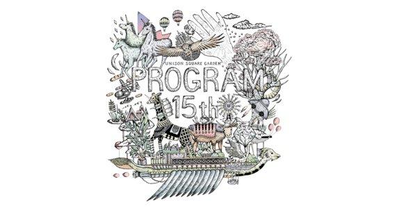 UNISON SQUARE GARDEN 「プログラム15th」
